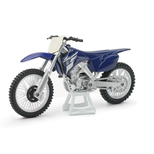 1:18 Scale Die-Cast Motorcycle - Blue Yamaha YZ 450F